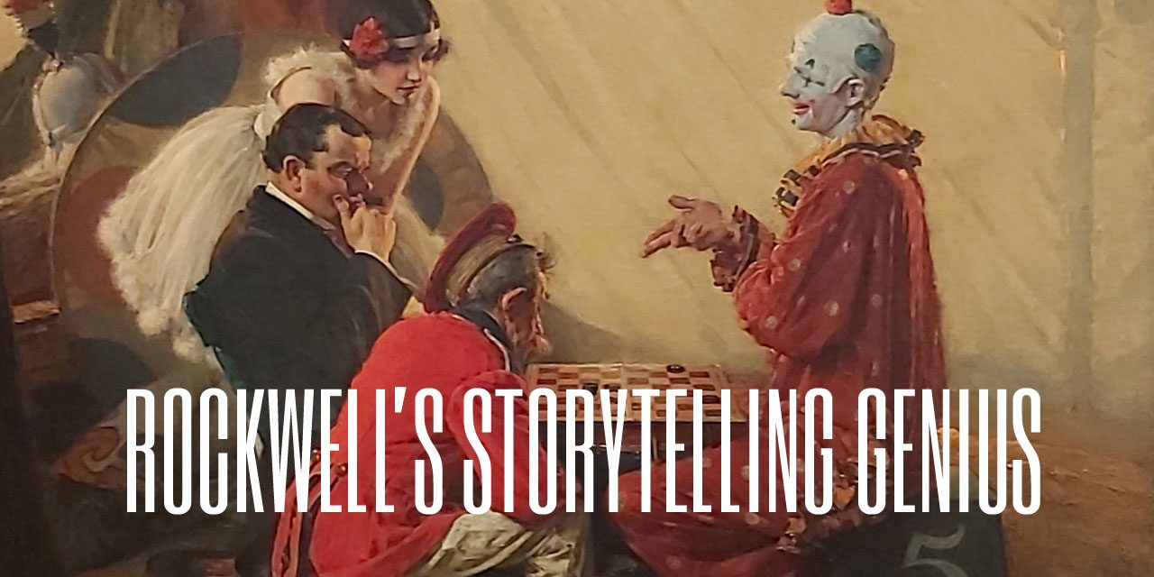 Rockwell's Storytelling Genius