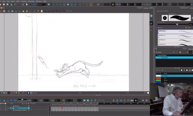 Cat Animation Exercise 1 – Cameron Johnson