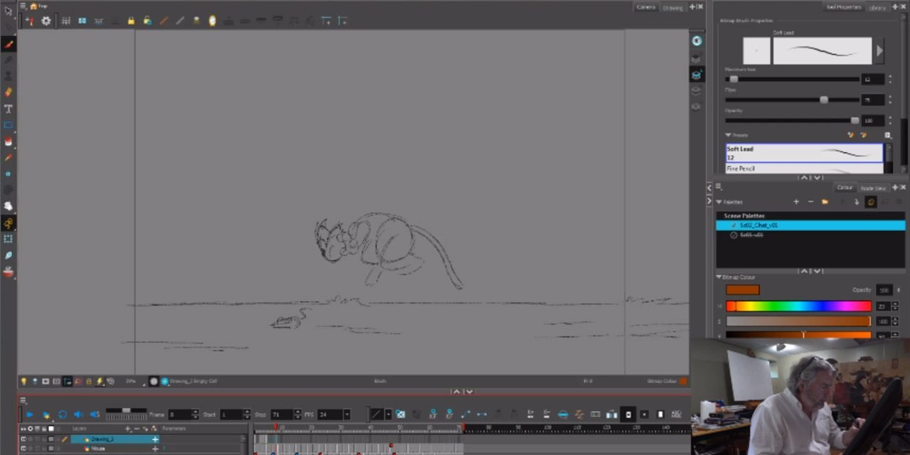 Cat Animation Exercise 1 Take 1 – Joshua