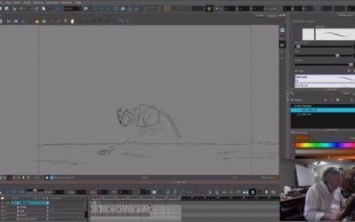 Cat Animation Exercise 1 Take 1 – Joshua