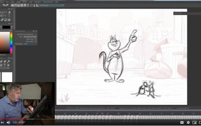 Cat Animation Exercise 2 – Fabiano Lentini