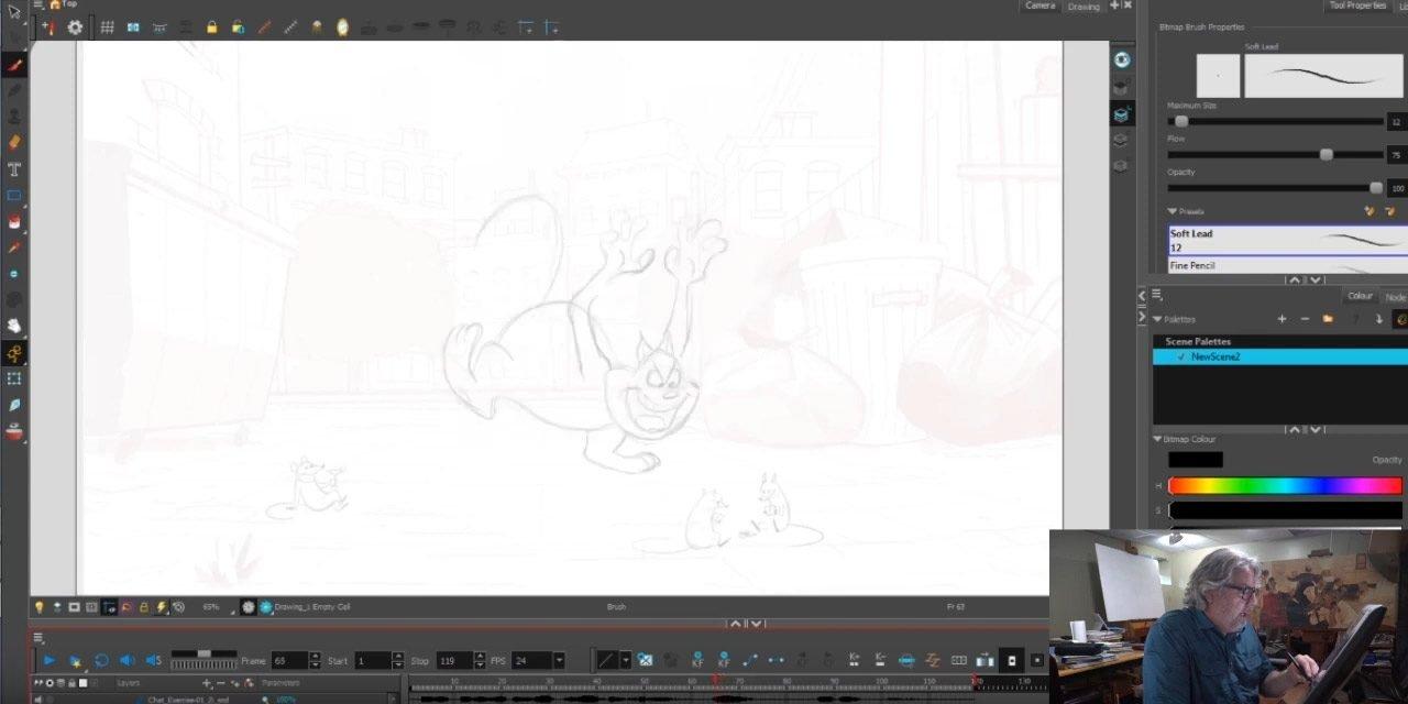 Cat Animation Exercise 2 – Zi