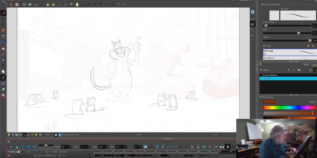 Cat Animation Exercise 2 tk 1 — Cameron