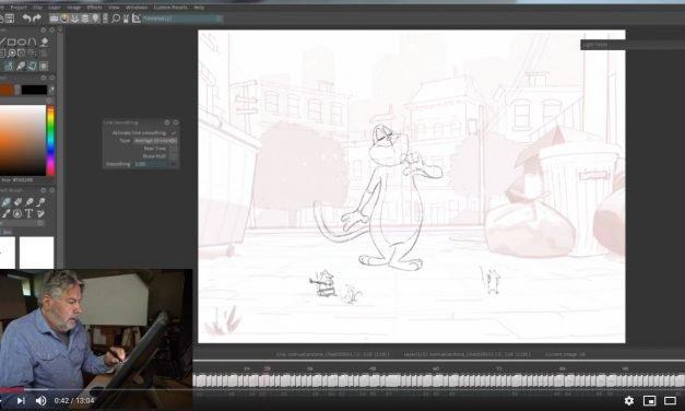 Cat Animation Exercise 2 — Joshua